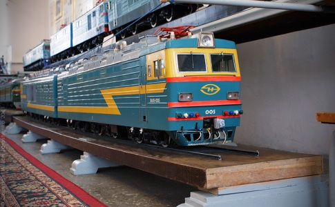 Photo reportage of the railway museum. St. Petersburg.